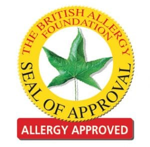 Allergy Approved Sticker Mark JPG