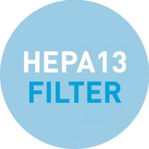 HEPA Filter Bubble Logo